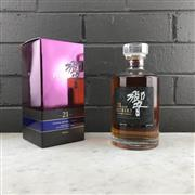 Sale 8950W - Lot 7 - 1x Suntory Whisky Hibiki 21YO Blended Japanese Whisky - 43% ABV, 700ml in box