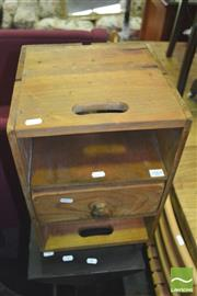 Sale 8352 - Lot 1064 - Rustic Bedside Cabinet