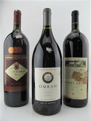Sale 8439W - Lot 800 - 3x 1500ml Magnums - 1x 2004 Plantagenet Omrah Shiraz; 1x 1993 Saltram Mamre Brook Cabernet Malbec; 1x 1995 Browns of Padthaway ...