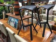 Sale 8851 - Lot 1033 - Set of Three Modern Barstools