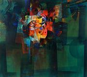 Sale 8992 - Lot 572 - Roger San Miguel (1940 - ) - Angel Fish, 1969 135.5 x 150 cm (frame: 142 x 156 x 5 cm)
