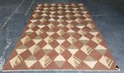 Sale 9048 - Lot 1080A - Cadrys Carpets Afghan Maymana Carpet in Handspun Ghazni Wool (306 x 192cm)