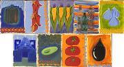 Sale 9058 - Lot 2046 - Jennifer Baird (9 works) - Still Lifes and others 30.5 x 22.5 cm