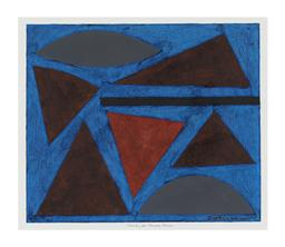Sale 9245J - Lot 8 - John Coburn - Abstract signed