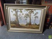 Sale 8483 - Lot 2086 - J. Gregory - Countryscape 50 x 75cm