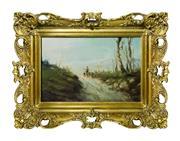 Sale 8891H - Lot 55 - ARTIST UNKNOWN - FRENCH - Antique Barbizon School 20.0 x 31.0cm