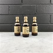 Sale 8950W - Lot 15 - 3x Suntory Whisky Yamazaki Distillery 12YO Single Malt Japanese Whisky - 43% ABV, 50ml miniature bottles (150ml total)