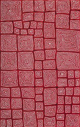 Sale 9084 - Lot 530 - Thomas Tjapaltjarri (c1964 - ) - Tingari 152 x 96 cm (stretched and ready to hang)