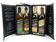 Sale 8290 - Lot 472 - 1x Johnnie Walker The Collection Gift Pack - 4x 200ml bottles in box