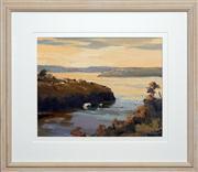 Sale 8411A - Lot 5079 - Ron Stannard (1934 - ) - Boats on Harbour 29 x 36.5cm