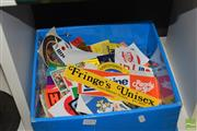Sale 8509 - Lot 2293 - Box of Stickers