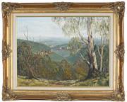 Sale 8895 - Lot 2014 - Ronald Peters - Wingecarribyee Landscape, oil on board, 45 x 60 cm, signed lower right