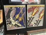 Sale 9091 - Lot 2039 - After Roy Lichtenstein (2 works) The Enemy would have be warned...that my ships was below them screenprints on board, frame: 62 x...