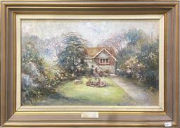 Sale 9103 - Lot 2012 - Audrey Stapleton Barrogill, Christmas 1988oil on board, 45 x 69cm (frame), signed