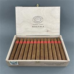 Sale 9142W - Lot 1031 - Partagas Serie P No.2 Cuban Cigars - box of 25 cigars, dated July 2020