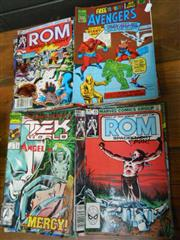 Sale 7943A - Lot 1613 - Collection of Newton & Marvel The Avengers; Rom; Tek World; Plant of the Apes