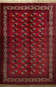 Sale 8338C - Lot 42 - Approx. 50 Years Old Afghan Turkman 350cm x 250cm