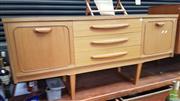 Sale 8409 - Lot 1026 - 1960s Teak Sideboard