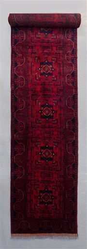 Sale 8493C - Lot 36 - Afghan Khal Mohamadi 500cm x 80cm