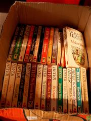 Sale 8582 - Lot 2360 - Collection of Georgette Heyer Books incl. Power & Patch; The Masqueraders; My Lord John; etc