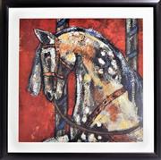 Sale 8778A - Lot 5049 - Alie Kruse Kolk - Carousel Prode 87 x 87cm (frame)