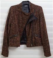 Sale 8902H - Lot 155 - An Oxford woven blazer in browns, reds and oranges, size S