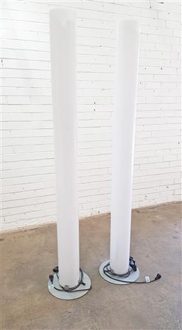 Sale 9117 - Lot 1090 - Pair of Lucite Flos floor lamps (h:198cm)