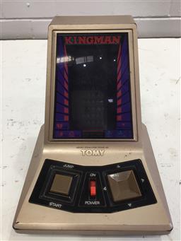 Sale 9151 - Lot 1062 - Vintage Kingman handheld micro computer game by Tomy (15cm)