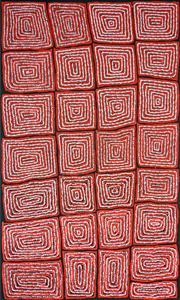 Sale 8321 - Lot 548 - Thomas Tjapaltjarri (c1964 - ) - Tingari 152 x 95cm
