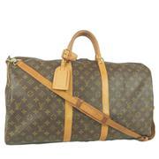 Sale 8362A - Lot 22 - A vintage French Louis Vuitton bag with shoulder strap, 55 cm