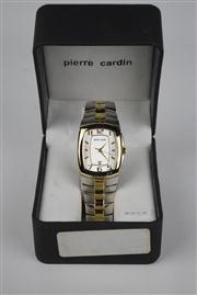Sale 8381 - Lot 130 - Pierre Cardin Wrist Watch, having a date aperture on steel band, in box
