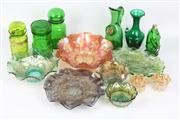 Sale 8410 - Lot 7 - Art Glass & Other Carnival Glass