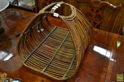 Sale 8489 - Lot 1035 - Cane Carry Basket
