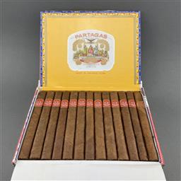 Sale 9120W - Lot 1500 - Partagas 'Super Partagas' Cuban Cigars - box of 25 cigars, dated May 2019