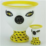 Sale 8372 - Lot 79 - Kosta Boda Ulrica Hydman-Vallien Glass Vases