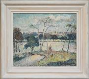 Sale 8871H - Lot 145 - John Santry (1910 - 1990) - Centennial Park 39.5 x 46cm
