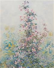 Sale 8622 - Lot 2050 - Annmarie Ingham (C20th) - Garden Flowers, 80 x 60cm