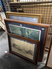 Sale 8924 - Lot 2090 - Collection of Decorative Prints and Paintings (3)