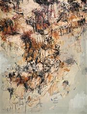 Sale 8938 - Lot 546 - David Rankin (1946 - ) - Red Ochre Headland, 1986 197 x 151.5 cm