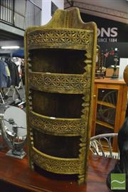 Sale 8398 - Lot 1063 - Indian Corner Cabinet