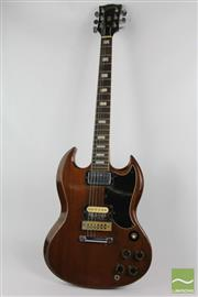 Sale 8516 - Lot 33 - Gibson SG Timber Guitar