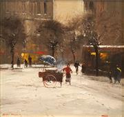 Sale 8652A - Lot 5091 - Colin Parker (1941 - ) - Near Les Halles, Paris 26 x 29.5cm