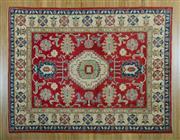Sale 8372C - Lot 37 - An Afghan Kazak, 241 x 184cm