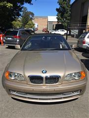 Sale 8409V - Lot 5001 - 2000 BMW 330Ci Convertible - former Queensland registration (ended 28/08/2017), vin: WBABS52020EXXXXXX plate: 729XIG, odometer: 117,...
