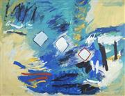 Sale 8732 - Lot 526 - Wendy Stokes (1957 - ) - Bay View, Port Macquarie 1992 120 x 151cm