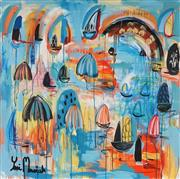 Sale 8826A - Lot 5015 - Yosi Messiah (1964 - ) - Magical Harbour 102 x 102cm