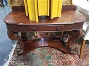 Sale 8826 - Lot 1059 - Mahogany Hall table