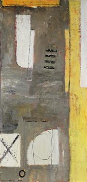 Sale 8947 - Lot 509 - Susan ODoherty (1960 - ) - Stitches. 2002 137 x 65.5 cm (total: 137 x 65.5 x 4 cm)