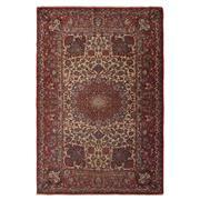 Sale 8971C - Lot 1 - Antique Fine Persian Isfahan Rug, Circa 1940, 145x215cm, Handspun Wool