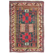 Sale 9020C - Lot 20 - Antique Caucasian Kazak, C1930, 130x190cm, Handspun Wool
